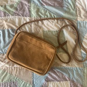 Suede urban outfitters crossbody bag